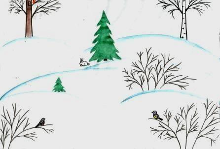 Птицы алтая зимой