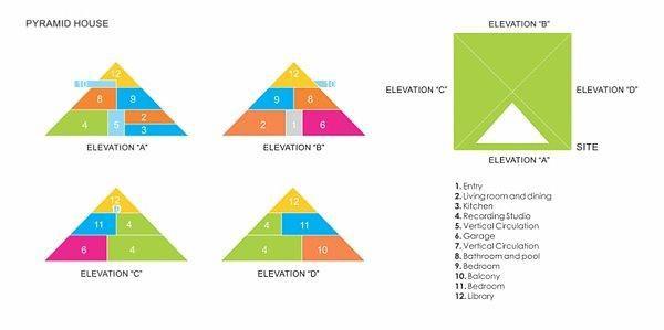 House pyramid by Juan Carlos Ramos, plan1