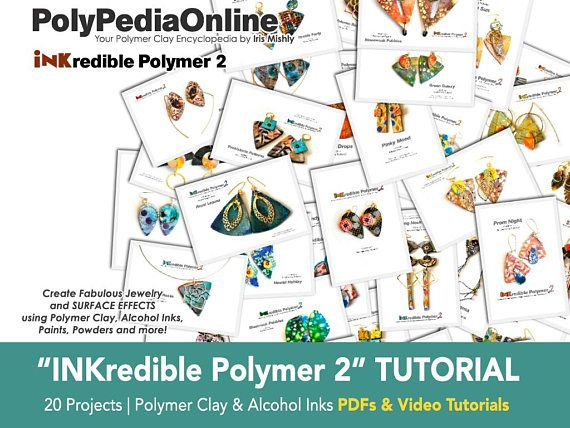 Polymer Clay Tutorial, Polymer Clay Jewelry, DIY Handmade Beads, Clay Beads, Alcohol Ink, Necklace, Bracelet, Earrings, Pendant, Gifts, Fimo #polymerclay #polymerclaytutorial #fimo #tutorial #diy #howto #polymer #polymerclaybeads #beads