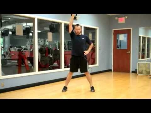 10 minutes of kettlebell exercises (for beginners, supposedly)