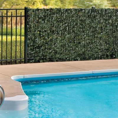 Faux Ivy! ~ 13 Attractive Ways To Add Privacy To Your Yard & Deck (With lots of pictures and resources)