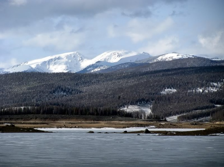 50 best places to write in northern colorado images on for Lake granby fishing report