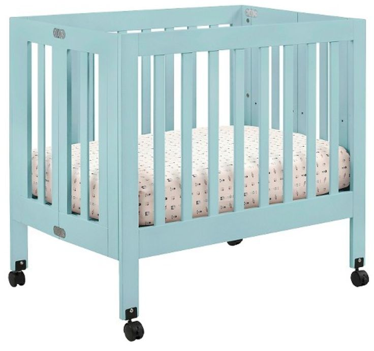 Target Mini Cribs (Pictured: Babyletto Origami Mini Crib) -- Foldable to save space!
