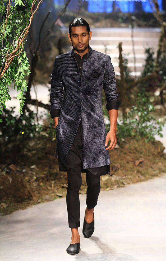 Tarun Tahiliani and Amit Aggarwal at Amazon India Fashion Week autumn/winter 2017