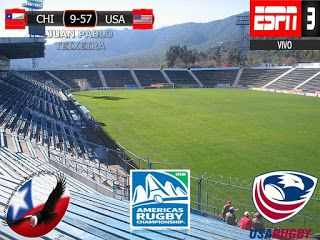 America Rugby Championship 2017 4º Fecha: Chile 9-57 Estados Unidos