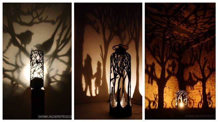 These intricately handmade pieces come to life when lit, casting shadows like still life stories. These are unique and timeless pieces to add to your home. S...