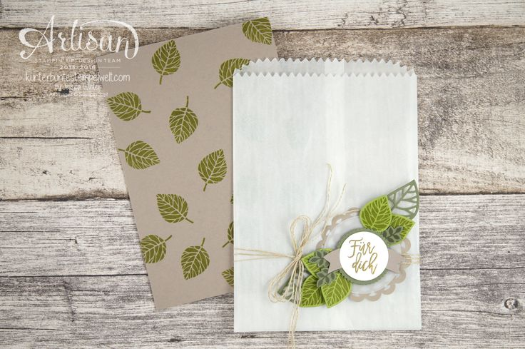 Stampin´ Up! - Artisan Design Team - Blog Hop - Thoughtful Branches - Beautiful Branches Thinlits