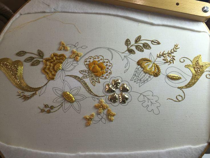 Gold work in progress