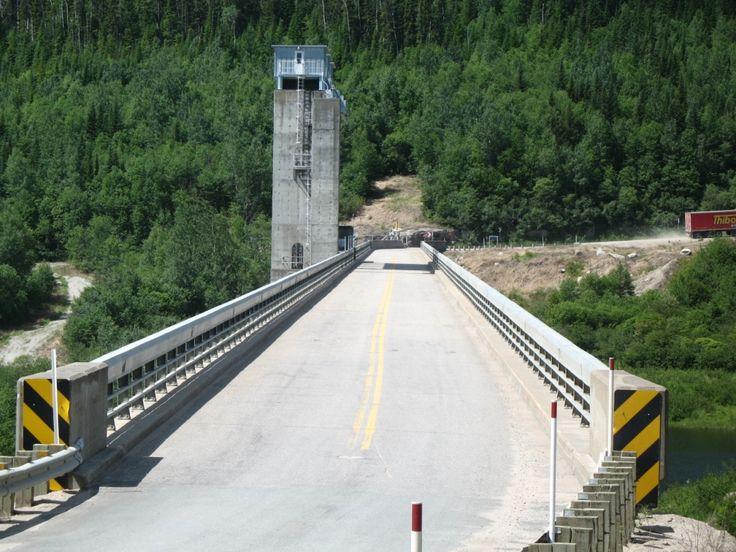Visite du barrage de Manic 5 (Daniel Johnson) - 25 Juin 2006