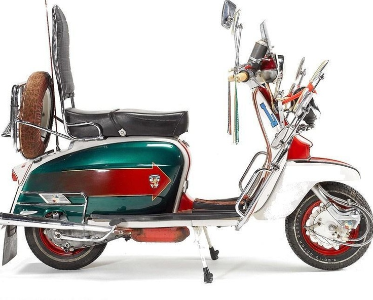 Jimmy's Lambretta scooter from Quadrophenia
