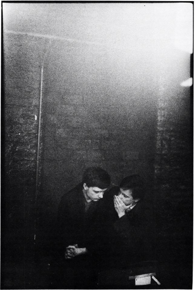 Ian Curtus and Bernard Sumner, 1979