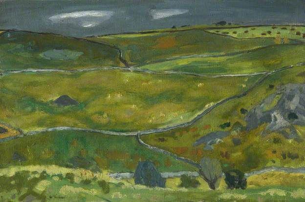 Green Fields. William Gillies