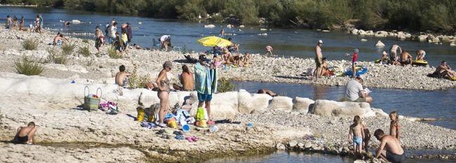 Indigo Le Moulin Campsite | Ardèche gorges campsite, rent pitch campsite Ardèche, caravanning holidays in Ardèche, holidays Ardèche campsite...