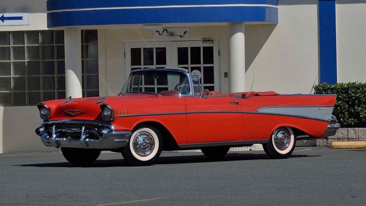 1957 Chevrolet Bel Air Convertible - 1