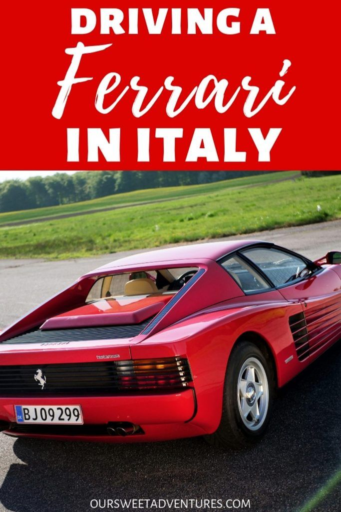 Driving A Ferrari In Italy The Ultimate Ferrari Experience Ferrari Experience Ferrari All Sports Cars