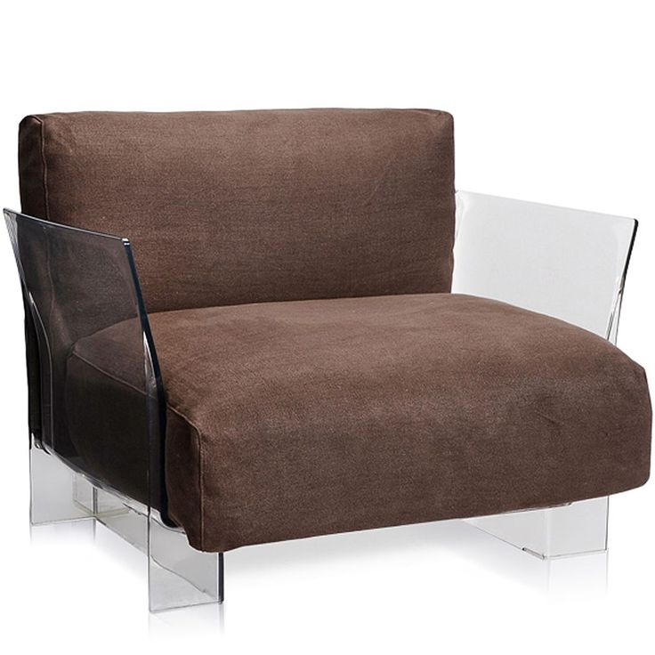 Leather Sectional Sofa Pop Cotton Sofa by Kartell Opad