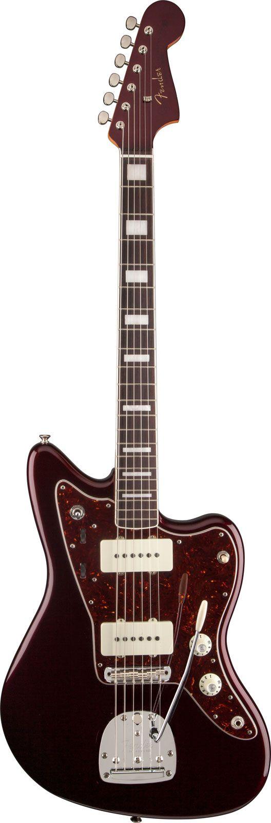 Fender Troy Van Leeuwen Jazzmaster RW Oxblood