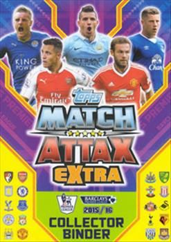Match Attax Extra Premier League 2015-2016