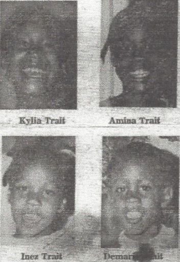 Victims Kylia Trait, 8 Amina Trait, 6 Inez Trait, 4 Demario Trait, 2 Slain Children Just Released To Mother From Foster Home Voodoo made her do it: The bizarre case of Gail Trait (GREAT site, has m…
