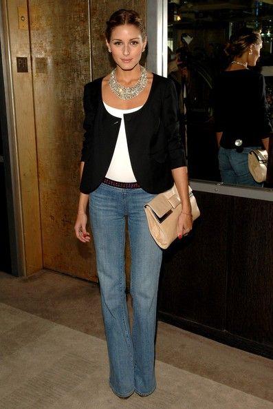 Olivia Palermo Fashion | Look com Calça Skinny #ModaParaDepoisDeEmagrecer