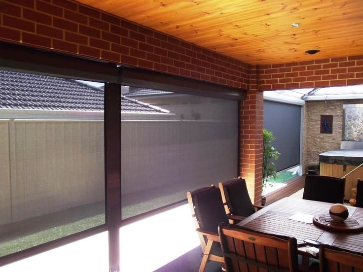 Patio Blinds Bring Comfort And Style
