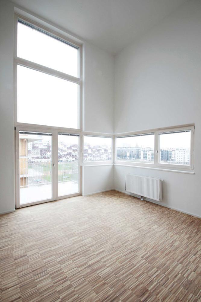двухэтажный переднего стекла, двухуровневая 6-й этаж / верхний этаж