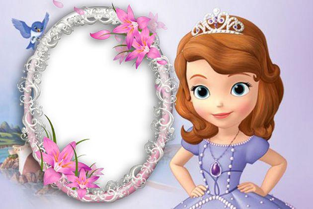 Marcos de Fotos Sofia la Primera Disney Png ~ Marcos Gratis para ...                                                                                                                                                      Más