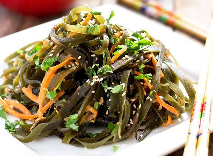Похудеть морская капуста салат