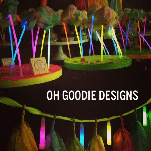 Neon party party ideas pinterest
