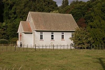 Country church at Pukeatua in the Waikato, NZ