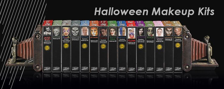 Mehron Halloween Makeup Kits