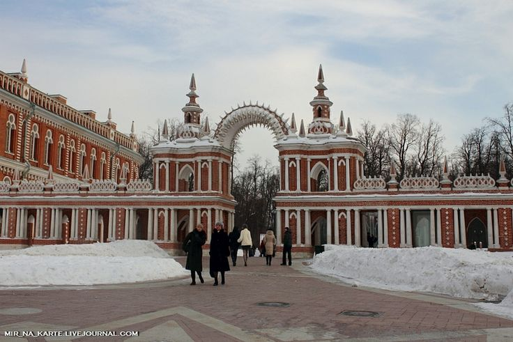the Grand Palace in Tsaritsyno https://www.google.com/maps/place ...