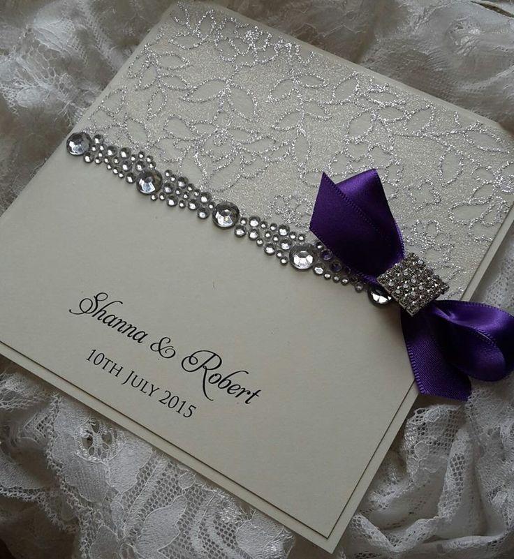 Elegant Wedding Invitations With Crystals: 547 Best Wedding Invitations Extrordinare! Images On