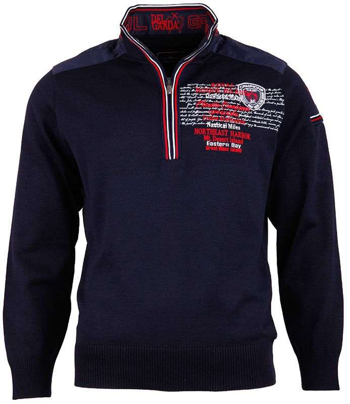 Marineblauer #Pullover für Männer mit Stil.