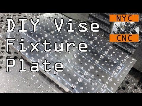 DIY Vise Fixture Plate Widget - Widget43 - YouTube