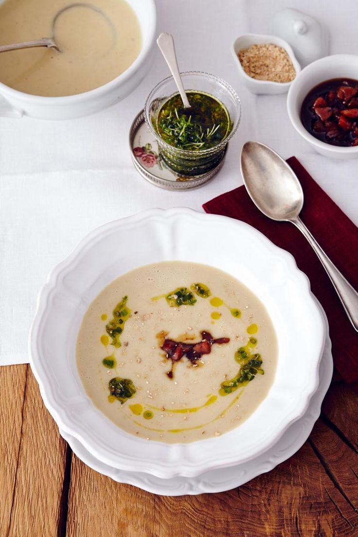 Cremige Maronen-Kartoffel-Suppe - [ESSEN UND TRINKEN]