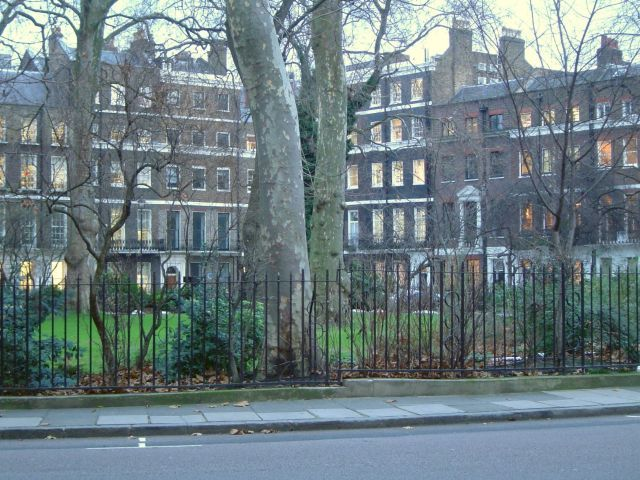 Manchester Square Garden in Paddington, Greater London