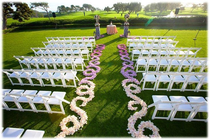25 best ideas about outdoor wedding ceremonies on for Simple outdoor wedding ceremony ideas