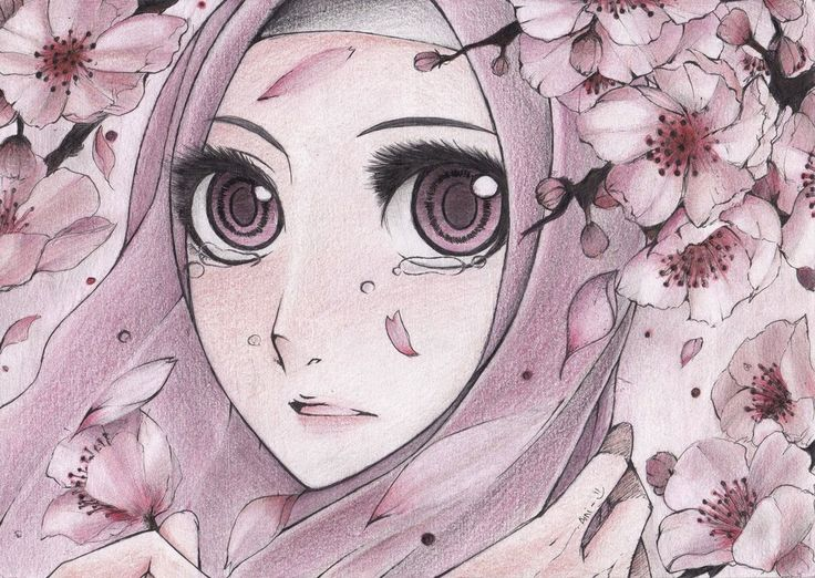 anime manga hijab