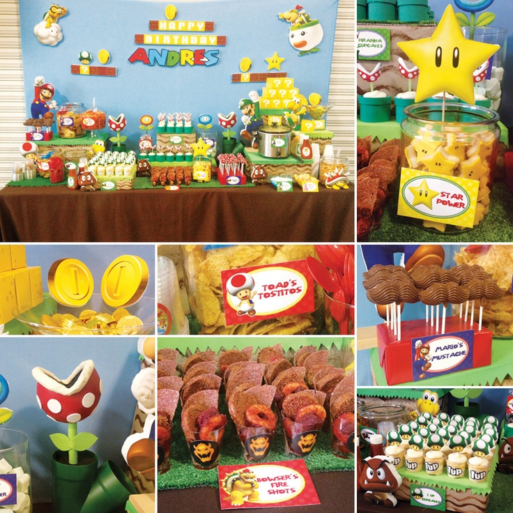 Super Mario Bros Party Ideas #SuperMario