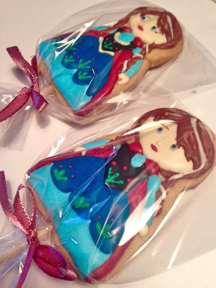 Anna - Frozen Cookies
