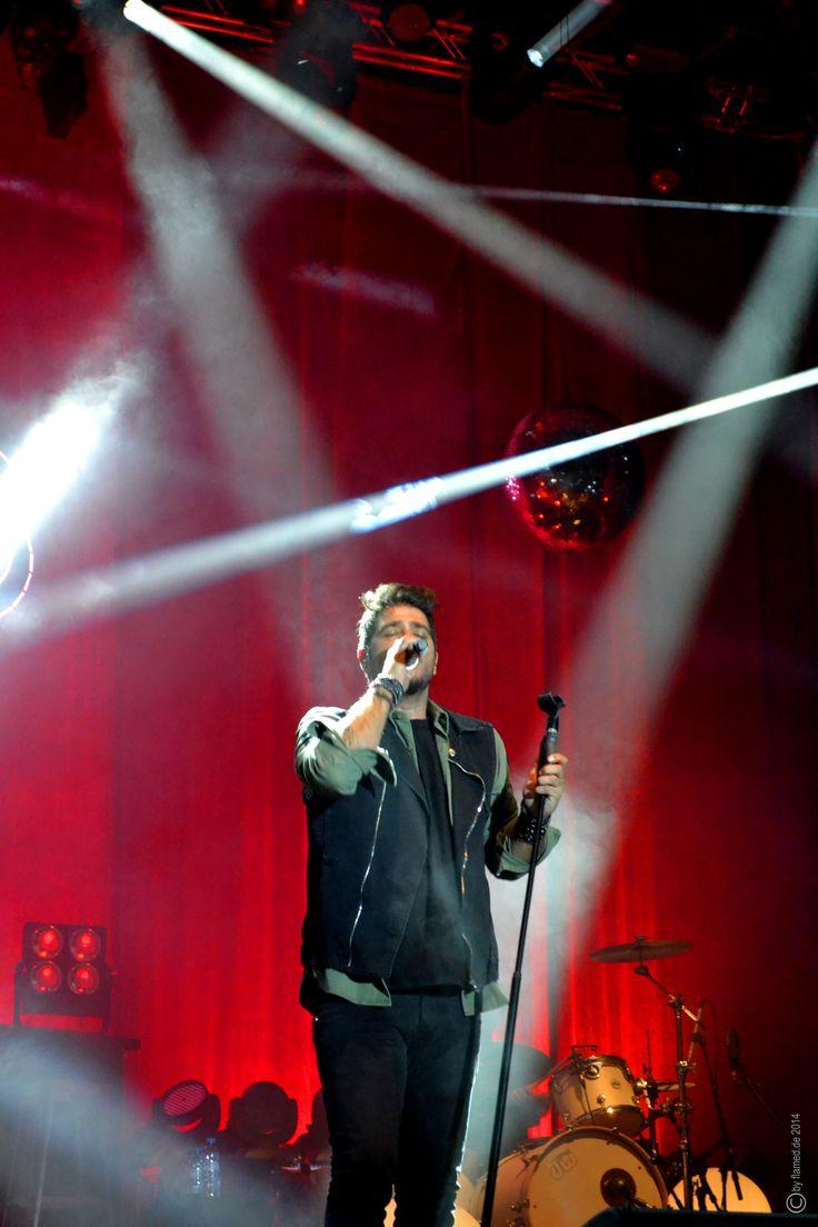 Antonio Orozco en concierto de Sant Jordi Club Barcelona Noviembre 15 2014 LIVE DOS ORILLAS OCEANS CLUB TOUR