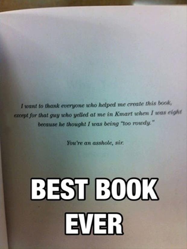 funny book dedication