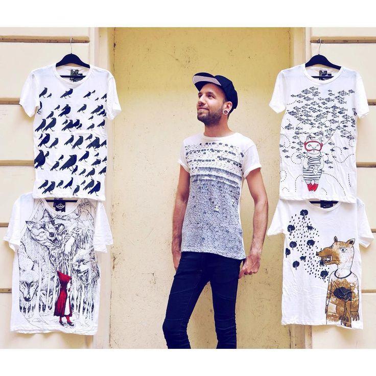 Mesés pólók srácoknak 🐡 #szputnyikshop #szputnyik #budapest #men #tshirt…