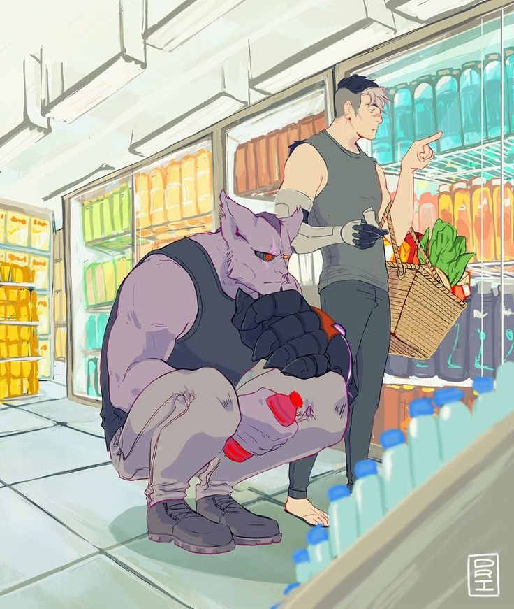 VLD AU - Slice-of-life Shiro and Sendak Grocery browsing ...