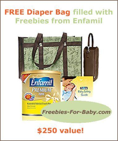 FREE Diaper Bag filled with free formula + baby samples from Enfamil! Go Here => http://freebies-for-baby.com/656/free-stuff-from-enfamil-250-value/ #BabySamples #FreeBabyStuff #Enfamil