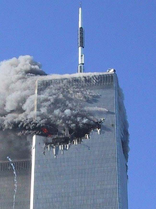 Rare Powerful Photos From September 11 2001 September 11 Photo North Tower