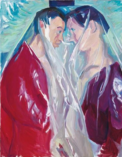 Maria Lassnig - Couple, 2005