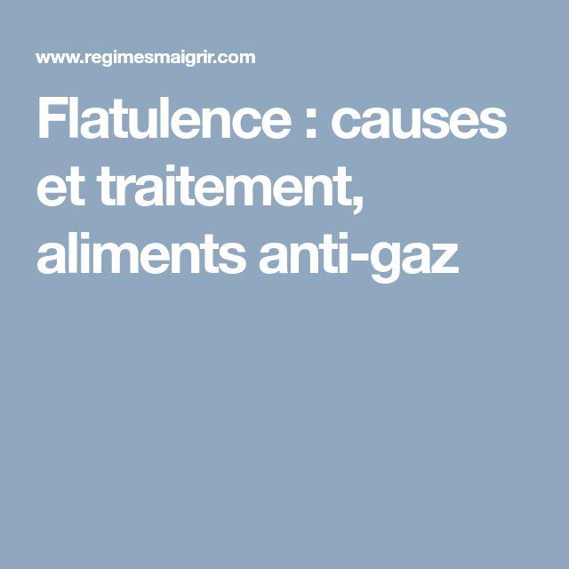 Flatulence : causes et traitement, aliments anti-gaz