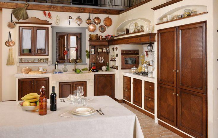 12 best Cucine rustiche images on Pinterest   Kitchen ideas ...